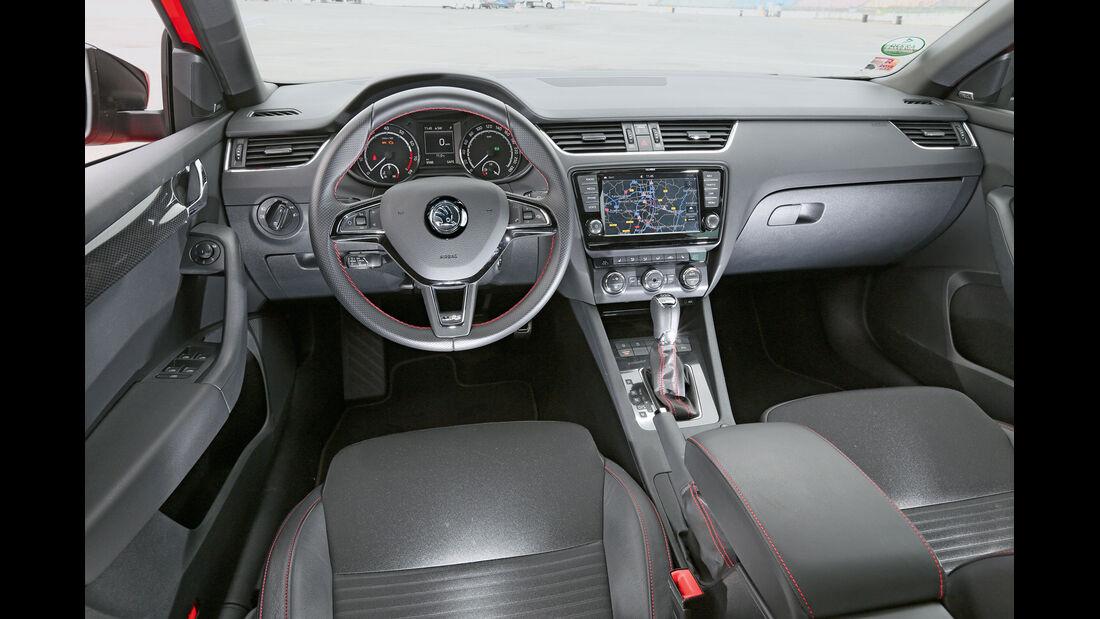 Skoda Octavia RS, Cockpit