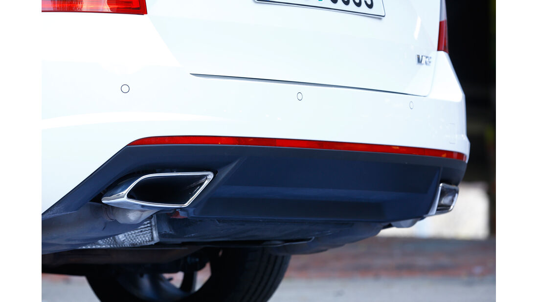 Skoda Octavia RS Combi, Auspuff, Endrohr