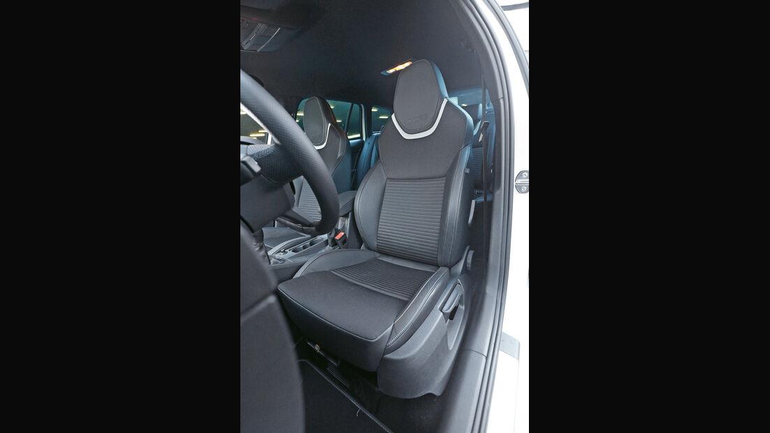 Skoda Octavia RS Combi, Fahrersitz