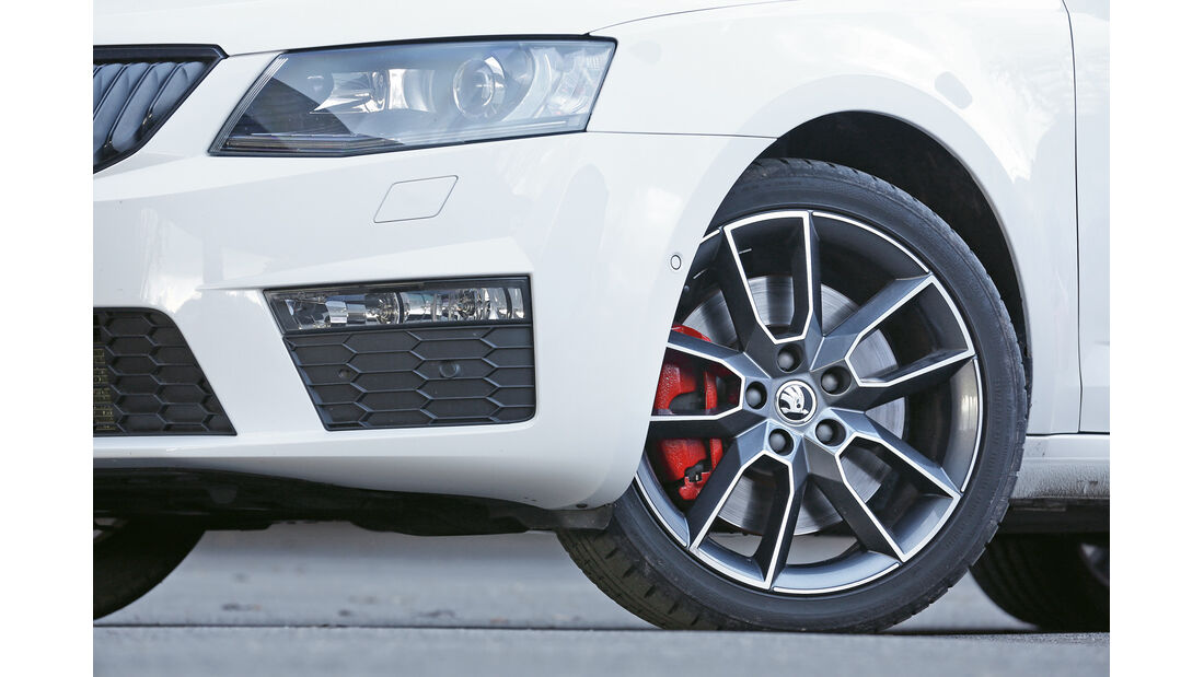 Skoda Octavia RS Combi, Rad, Felge, Bremse