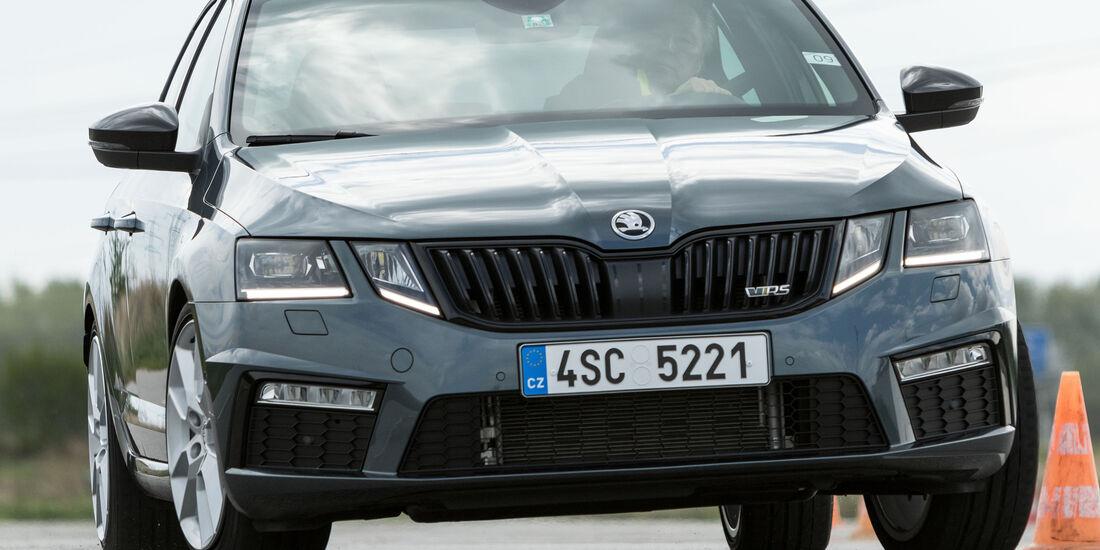 Skoda Octavia RS, Frontansicht