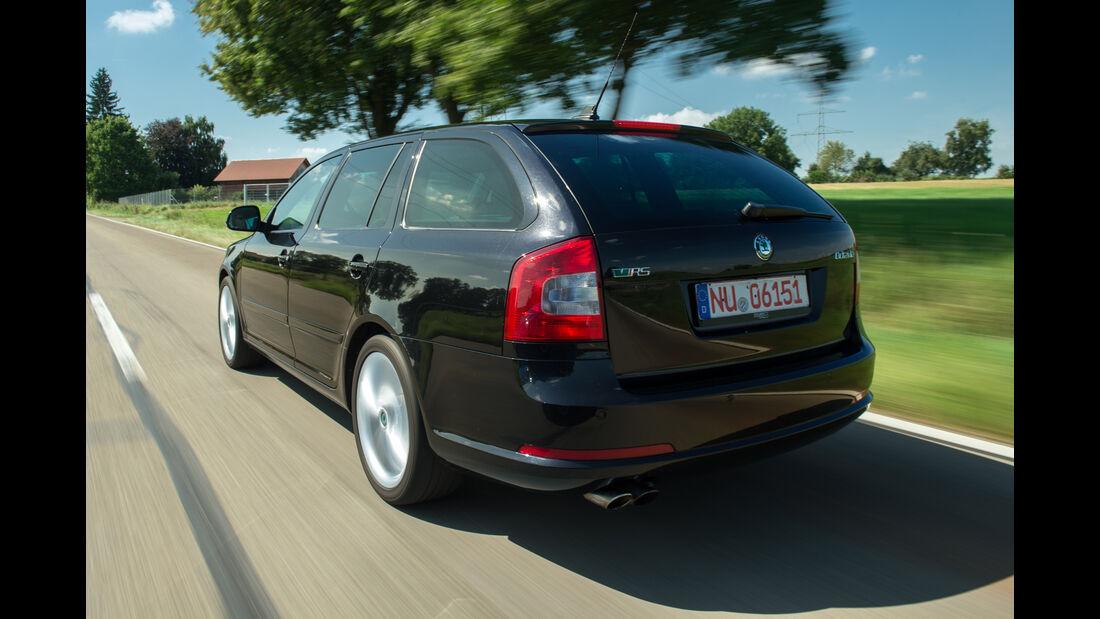 Skoda Octavia RS, Heckansicht