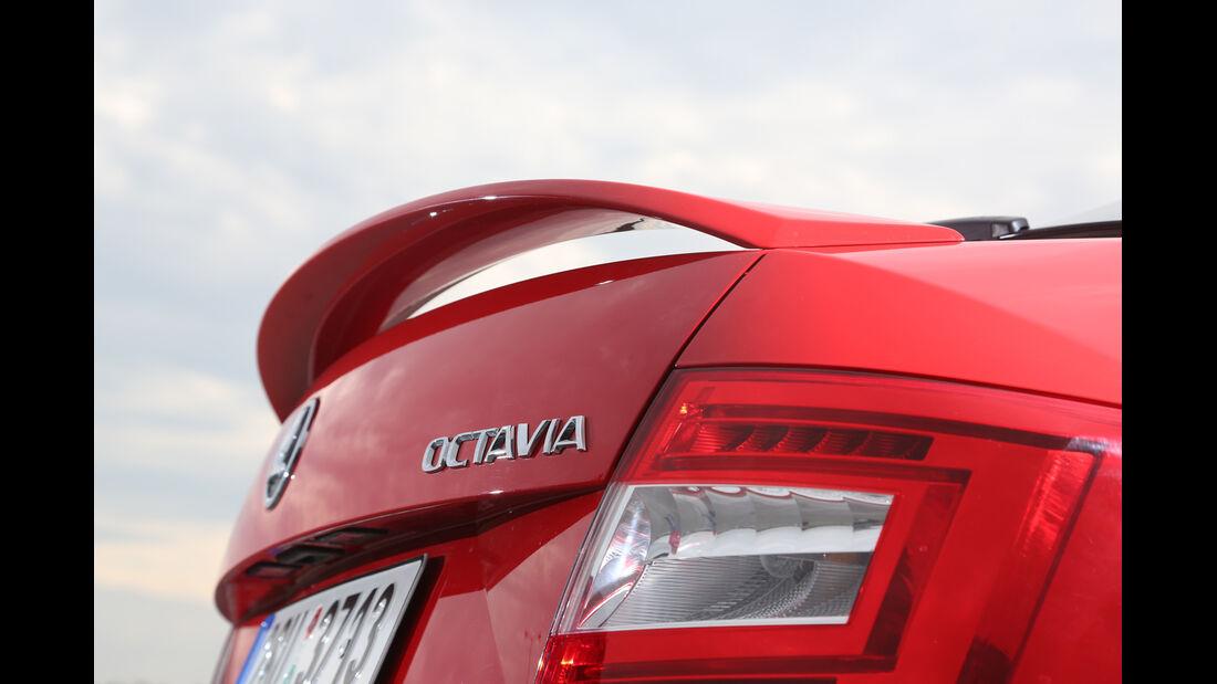 Skoda Octavia RS, Heckspoiler