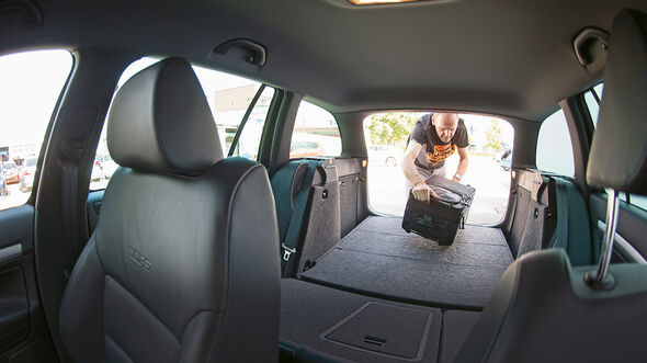 Skoda Octavia RS, Kofferraum