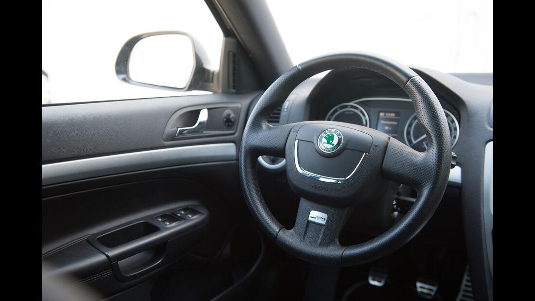 Skoda Octavia RS, Lenkrad