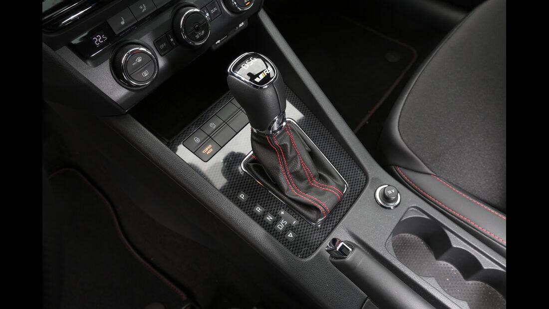 Skoda Octavia RS, Schalthebel