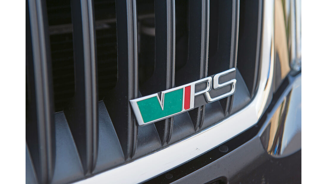 Skoda Octavia RS, Typenbezeichnung
