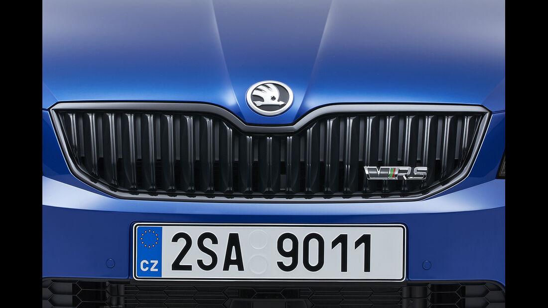 Skoda Octavia RS, Weltpremiere 2013, Kühlergrill, Limousine