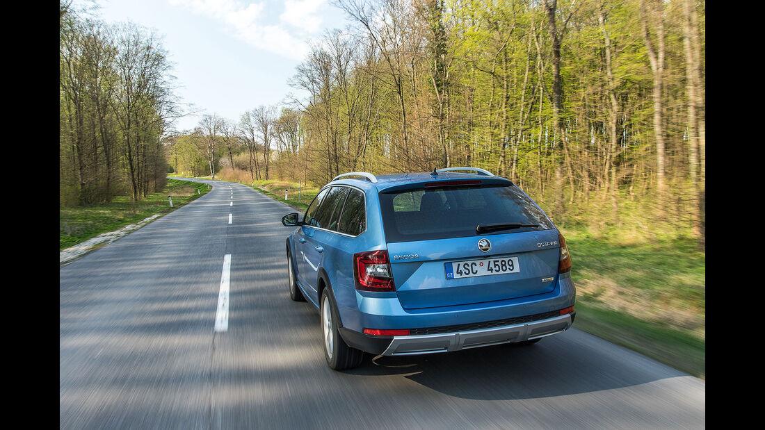 Skoda Octavia Scout Facelift Fahrbericht