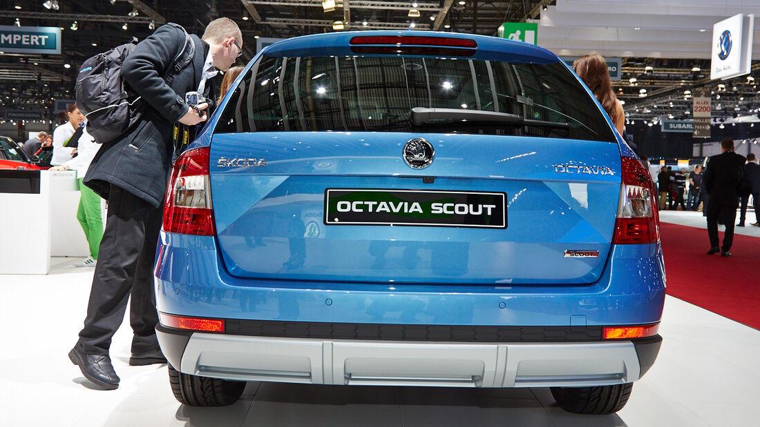 Skoda Octavia Skout, Genfer Autosalon, Messe, 2014, Genfer Autosalon, Messe, 2014