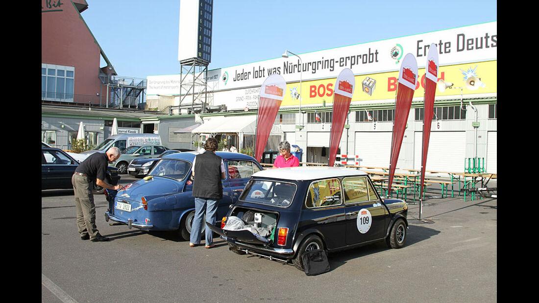 Skoda Oktavia 1200 TS, 1963, Mini Cooper Innocenti, 1974