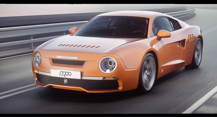 Skoda R200 Non-Fiction, Concept, Audi R8, V8