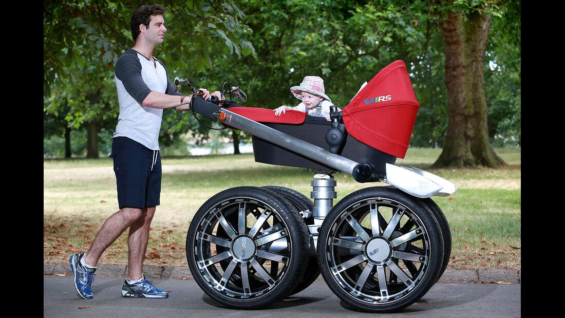 Skoda RS Kinderwagen