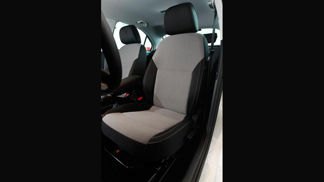 Skoda Rapid 1.2 TSI Green Tec, Fahrersitz