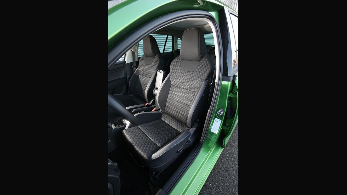 Skoda Rapid Spaceback 1.2 TSI, Fahrersitz