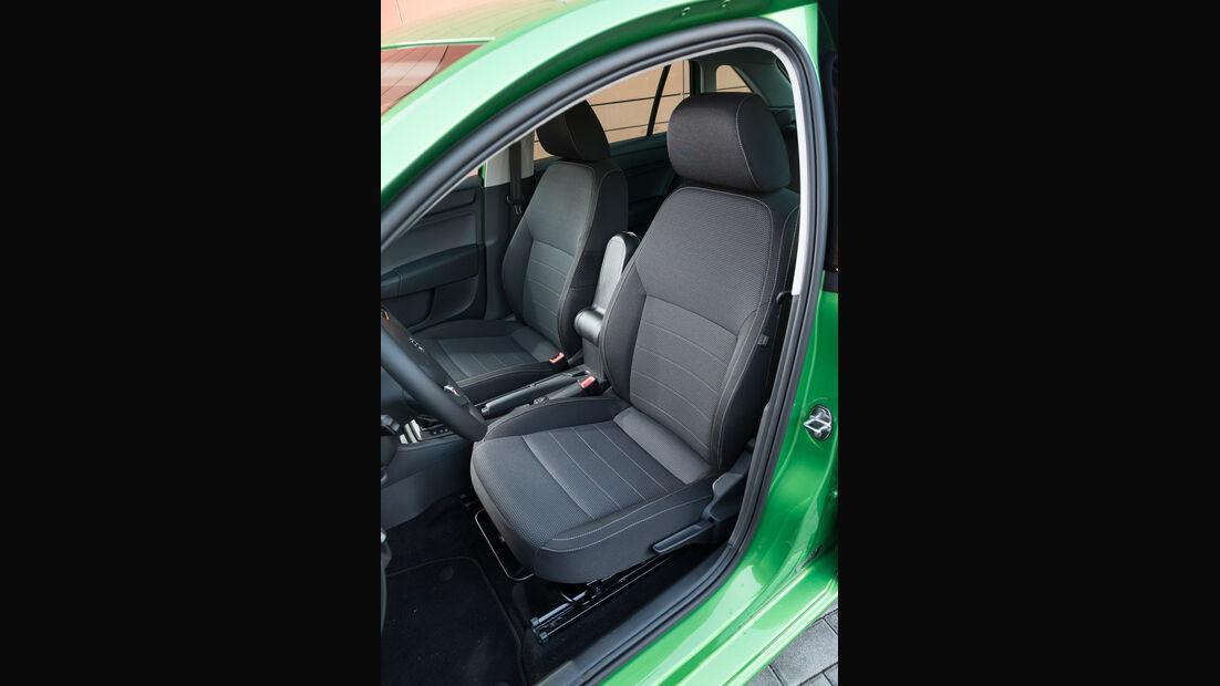 Skoda Rapid Spaceback 1.4 TSI, Fahrersitz