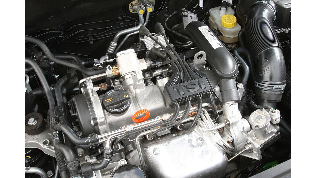 Skoda Roomster 1.2 TSI, Facelift, Motor