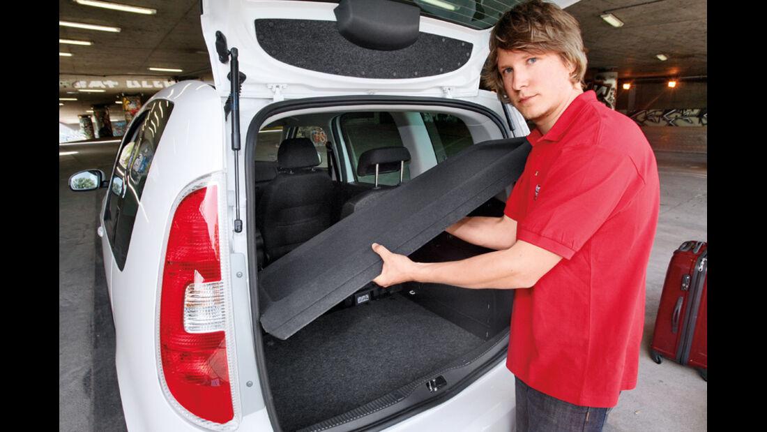 Skoda Roomster Kofferraumabdeckung