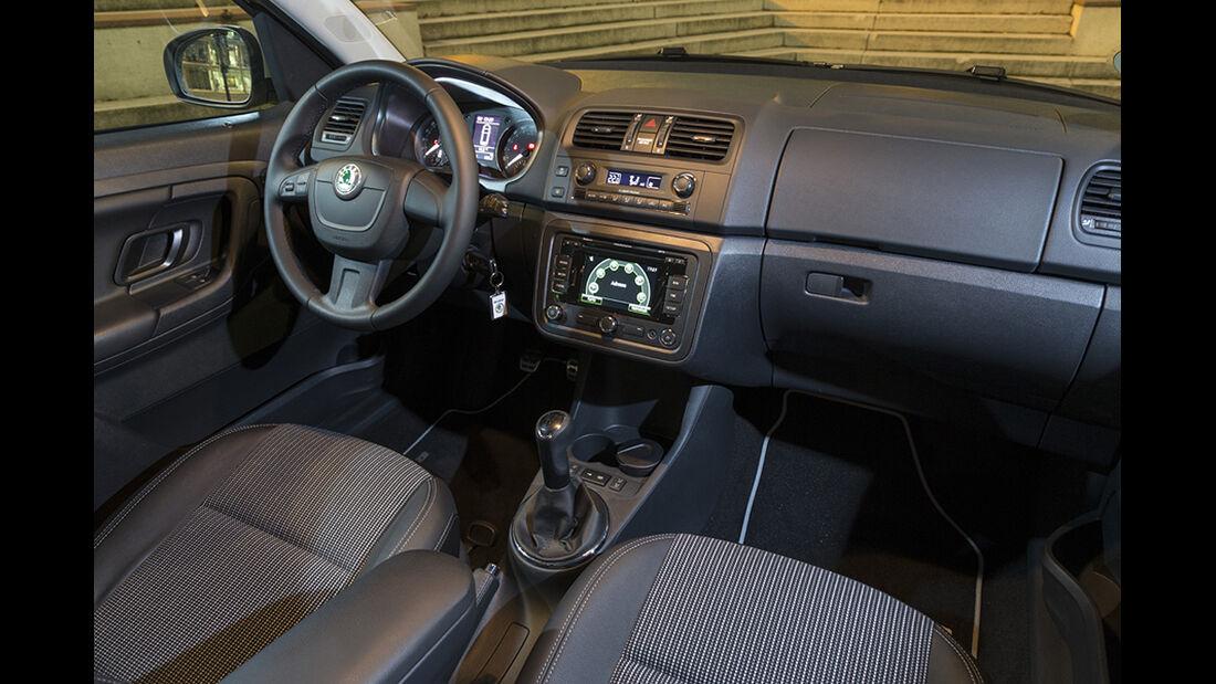 Skoda Roomster Scout 1.6 TDI, Cockpit