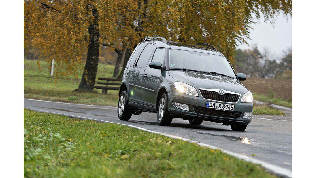Skoda Roomster Scout 1.6 TDI, Front