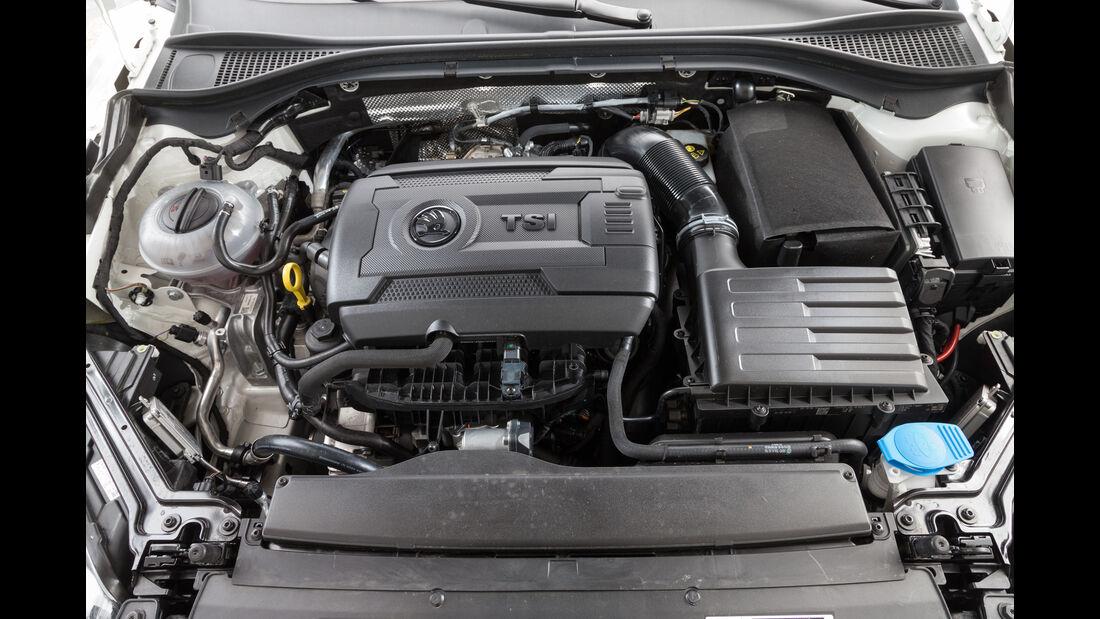Skoda Superb 2.0 TSI, Motor