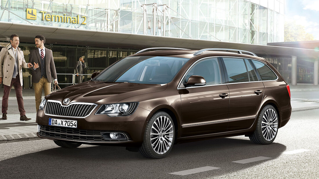 Skoda Superb Best of Sondermodell