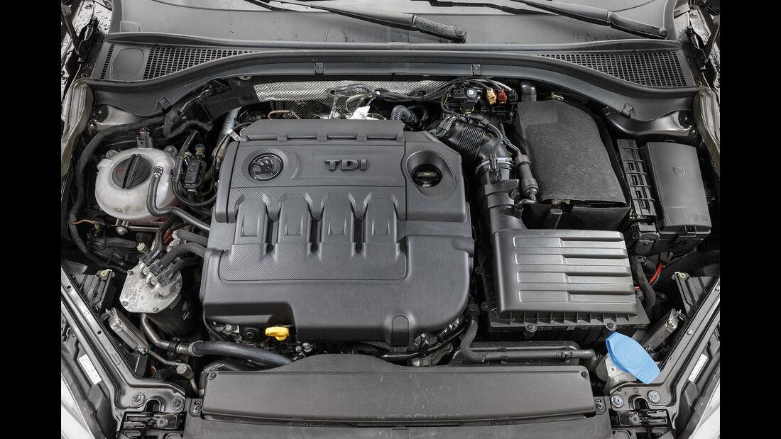 Skoda Superb Combi 2.0 TDI 4x4, Motor