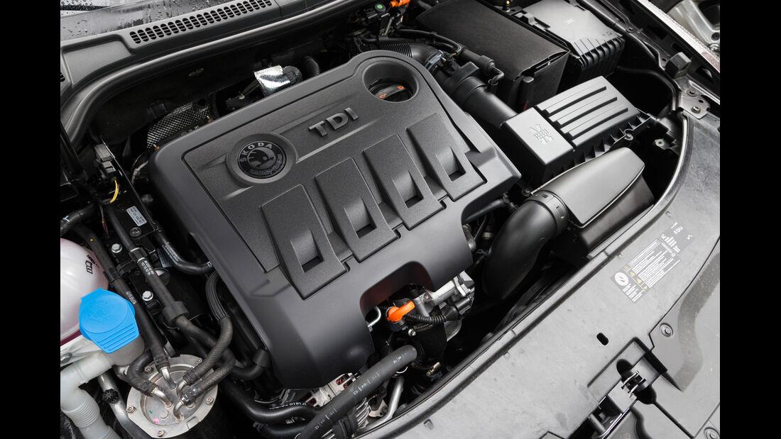 Skoda Superb Combi 2.0 TDI Eleg., Motor
