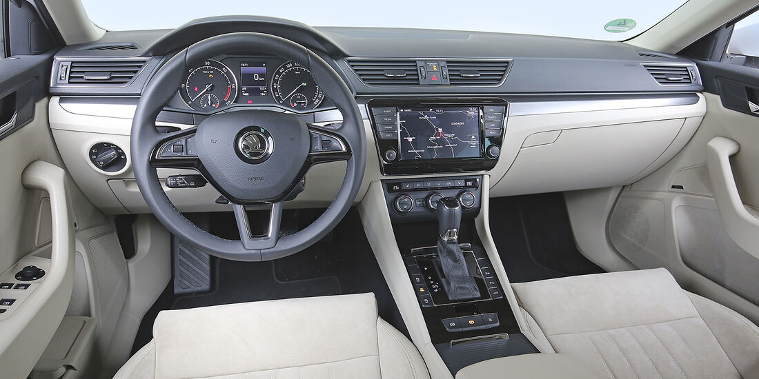 Skoda Superb Combi 2.0 TDI, Interieur