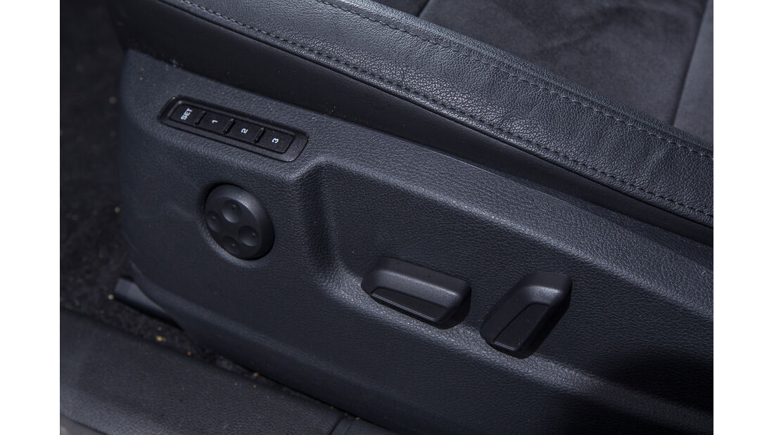 Skoda Superb Combi 2.0 TDI, Sitzverstellung