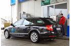 Skoda Superb Combi 2.0 TSI LPG Elegance, Tankstelle