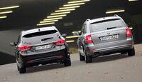 Skoda Superb Combi, Hyundai i40 cw