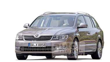 Skoda Superb Facelift 2013, Retusche