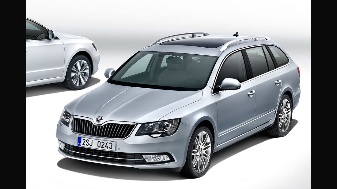 Skoda Superb Facelift 2013