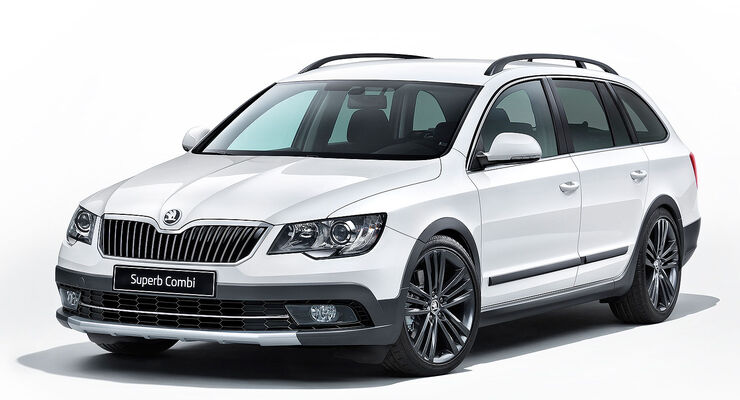 Skoda Superb Outdoor-Paket