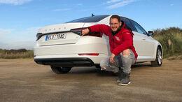 Skoda Superb iV Hybrid Fahrbericht