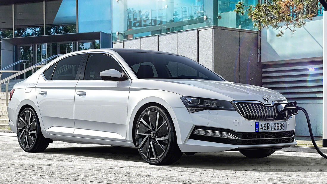 Skoda Superb iV Plug-in-Hybrid Facelift