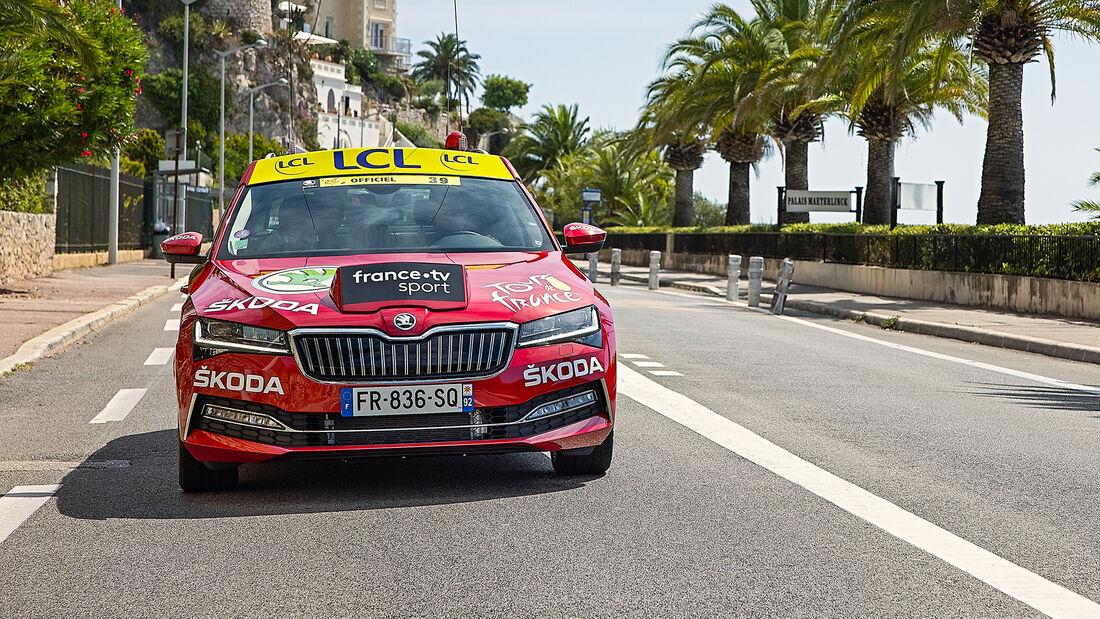 Skoda Superb iV, Tour de France 2020