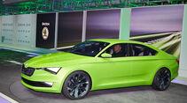 Skoda Vision C, Genfer Autosalon, Messe 2014