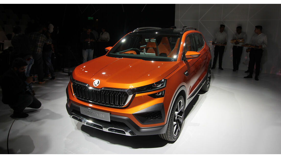 Skoda Vision IN, SUV, Neu Delhi Auto Expo 2020