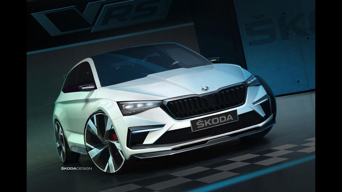 Skoda Vision RS Concept Studie 2018