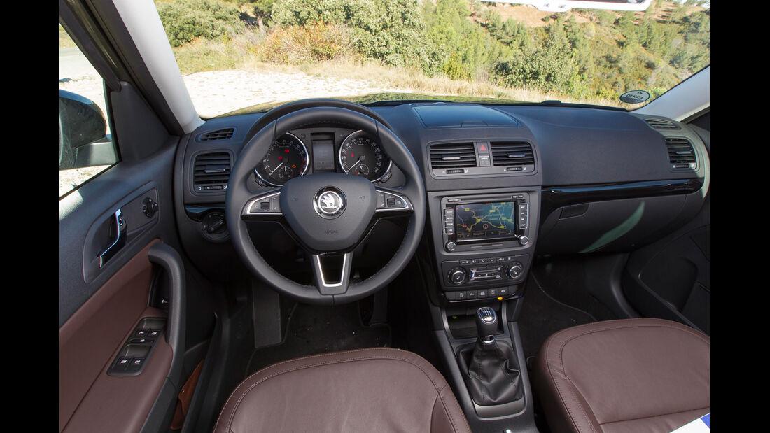Skoda Yeti 2.0 TDI 4x4, Cockpit