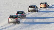 Skoda Yeti 2.0 TDI 4x4 Elegance, Hyundai ix35 2.0 CRDi 4WD Trend, VW Tiguan 2.0 TDI 4Motion BMT Sport Style, Mazda CX-5 Skyactiv-D 150 AWD Center-Line