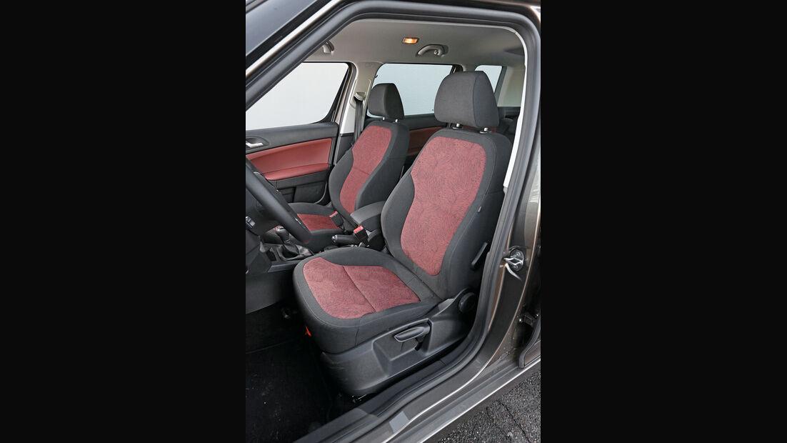 Skoda Yeti 2.0 TDI 4x4, Fahrersitz