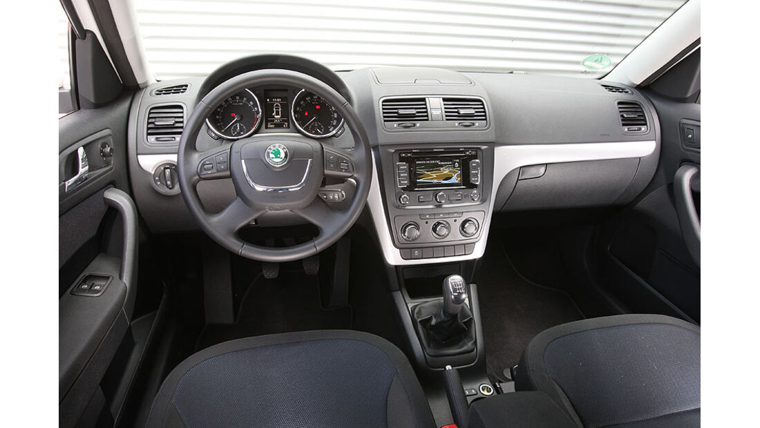 Skoda Yeti 2.0 TDI,Cockpit