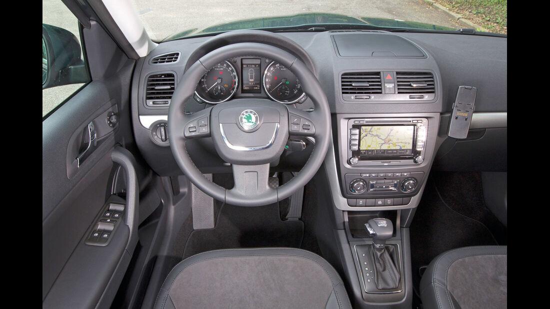 Skoda Yeti 2.0 TDI Greentec, Cockpit