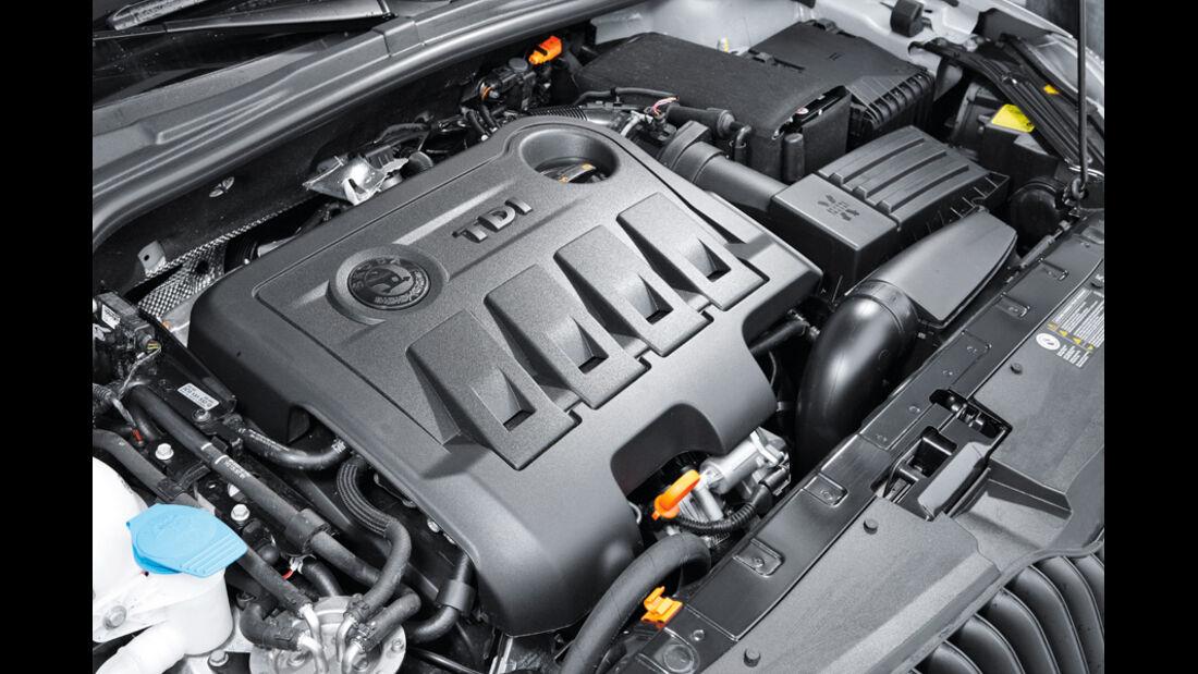 Skoda Yeti  2.0 TDI Motor