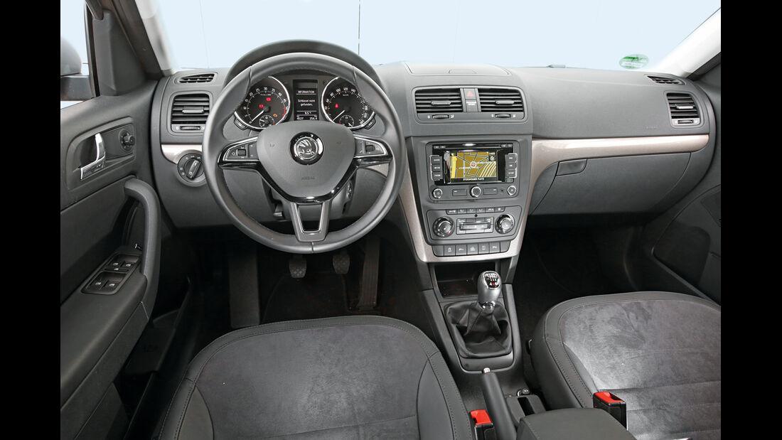 Skoda Yeti 2.0 TDI Outdoor Elegance, Cockpit