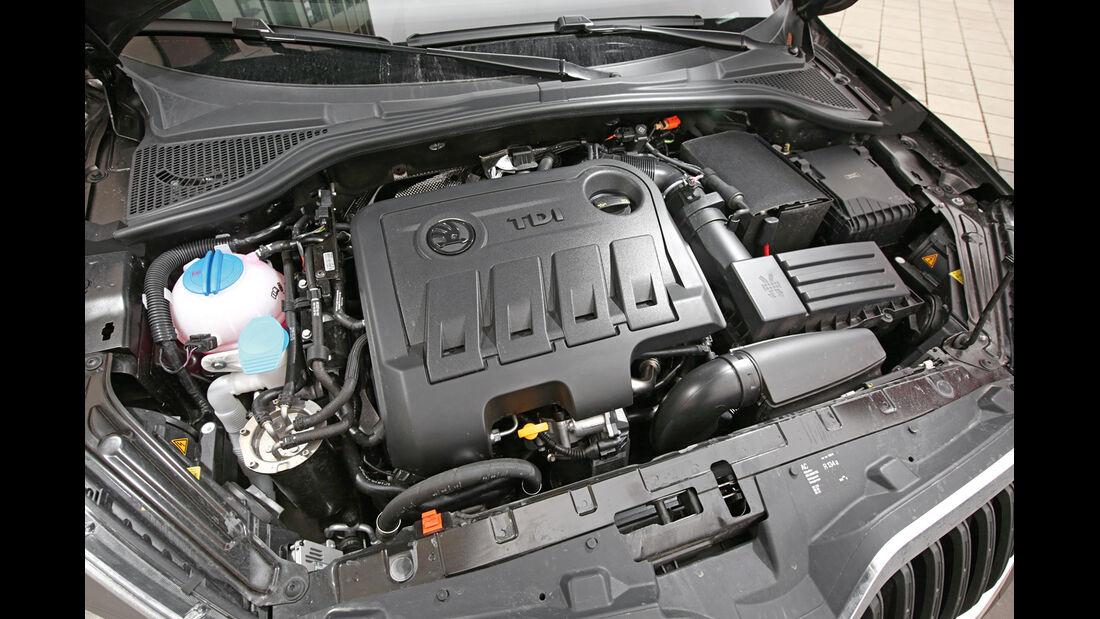 Skoda Yeti 2.0 TDI Outdoor Elegance, Motor