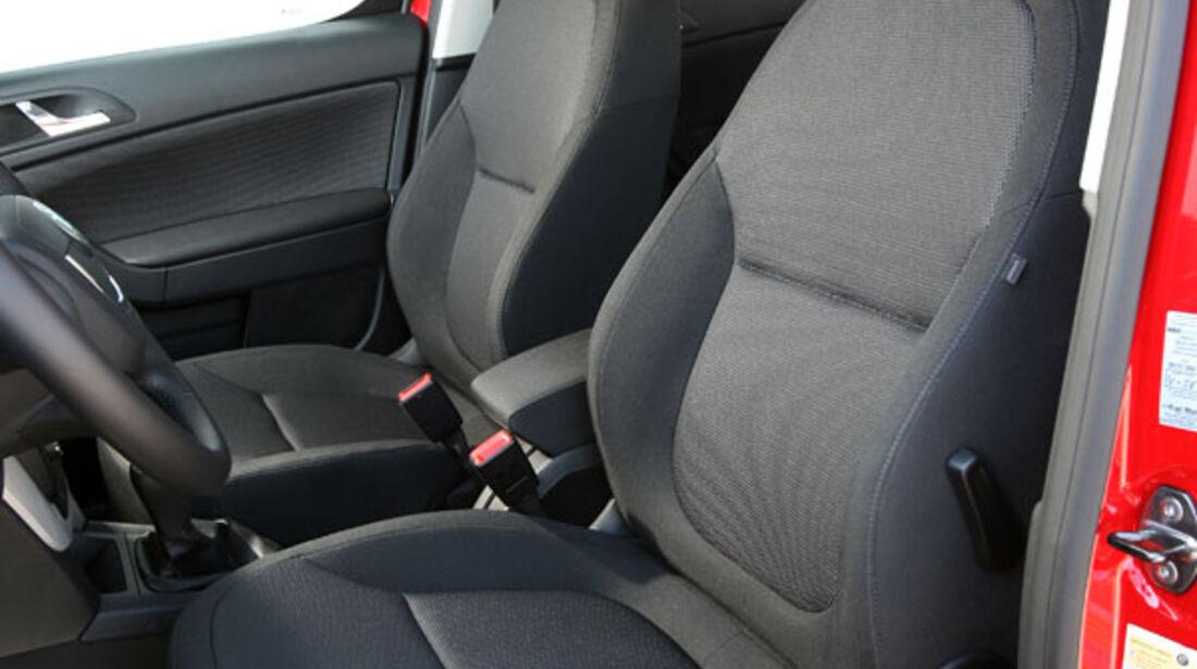 Skoda Yeti, Sitze, Innenraum